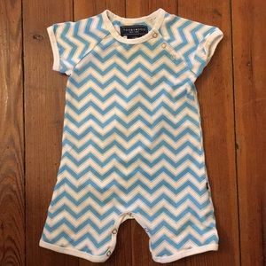 Toobydoo shortie jumpsuit 3/6month